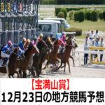 【宝満山賞】12月23日の地方競馬予想【銀嶺賞】