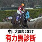 【中山大障害2017】予想オッズと有力馬診断