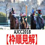 【AJCC2018】予想と枠順見解