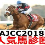 【AJCC2018】予想オッズと人気馬診断