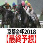 【京都金杯2018】予想と枠順見解【最終予想】