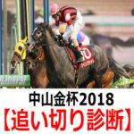 【中山金杯2018】追い切り診断