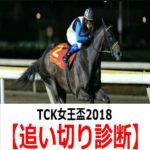 【TCK女王盃2018】追い切り診断