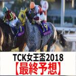 【TCK女王盃2018】予想と枠順見解【最終予想】