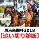 【東京新聞杯2018】追い切り診断