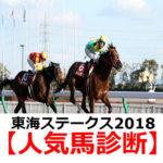 【東海ステークス2018】予想オッズと人気馬診断