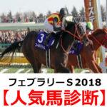 【フェブラリーステークス2018】予想オッズと人気馬診断