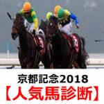【京都記念2018】予想オッズと人気馬診断