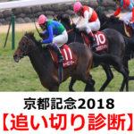 【京都記念2018】追い切り診断