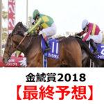 【金鯱賞2018】予想と馬場傾向【最終予想】