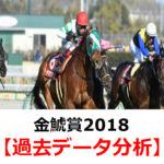 【金鯱賞2018】過去10年間のデータ・傾向